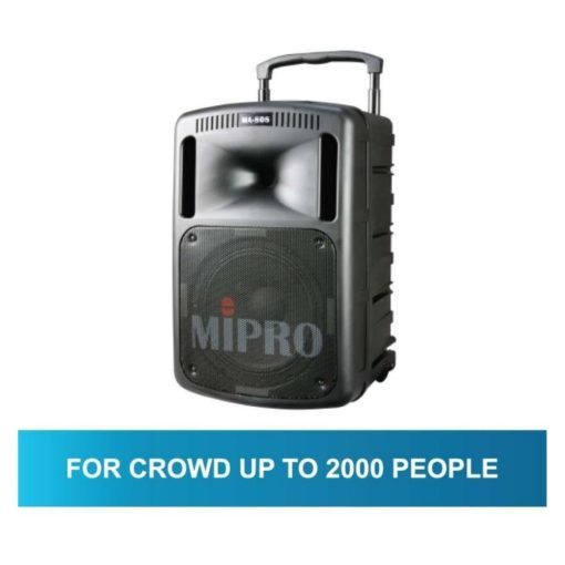 Mipro MA808 Portable Wireless PA System (7)