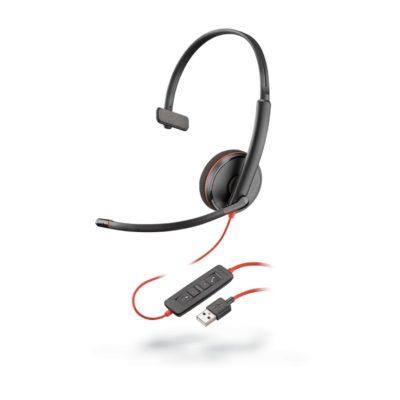 Blackwire C3210 Monaural Corded Headset (USB)